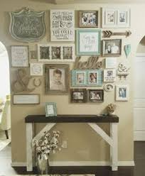 home decor for walls anniversary date driftwood sign photo gallery walls shapes and