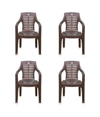 Supreme Plastic Chairs Price In Bangalore 14 Off On Supreme Texas Chair Set Of 4 Black On Snapdeal