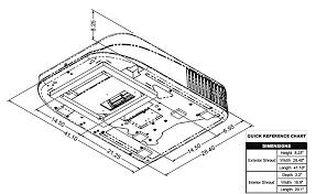 coleman mach 8 47204b876 rv rooftop air conditioner 15 000 btu white