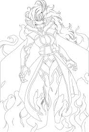 fairy tail mirajane strauss lineart ch 279 by redfiedsawnroberts
