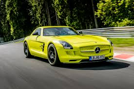 mercedes green mercedes sets green hell record with green sls mbworld