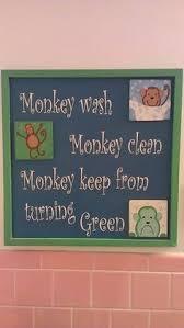 Monkey Bathroom Ideas by Monkey Bathroom Wall Art Canvas Or Prints Boy Brother Sister