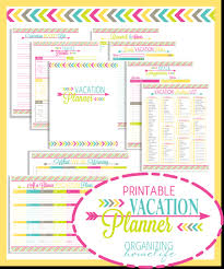 Wyoming travel planner images Printable vacation planner and duo binder giveaway organizing png