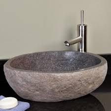 stone vessel bathroom sinks sink clearance granite waterfall
