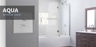 glass door in bathroom glass bat door