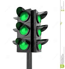 traffic light all green royalty free stock photography image