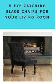 Chairs For Livingroom Black Chair For Living Room Furniturable
