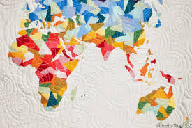 Prairies In World Map by Inspired By Fabric Behind The Scenes Around The World