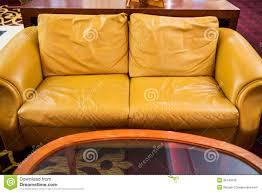 yellow sofa stock photo image 36145030
