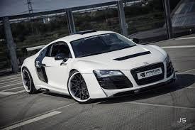 Audi R8 Modified - white audi r8 pd gt850 by dcc gtspirit