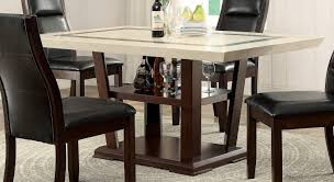 coaster lacombe dining table cappuccino 105841 at homelement com