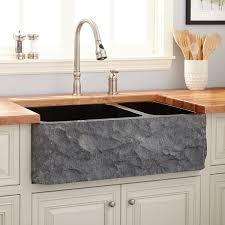 double basin apron front sink 33 polished granite 70 30 offset double bowl farmhouse sink