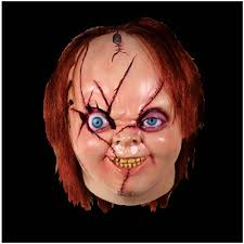 chucky mask licensed child s play of chucky mask version 2 mad about