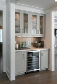 Gray Cabinets In Kitchen by Custom Dining Room Built In Would Be Beautiful Along The Back