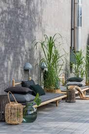 mobilier exterieur design zen stemning med gress jardins pinterest terrasses