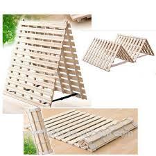 Wooden Folding Bed Pan Japanese Useful Sunoko Fold Up Beds Space Saving Wooden
