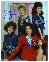 designing women smart designing women tv cast photograph signed with cosigners