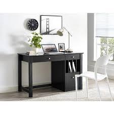 Black Wood Desk Walker Edison Furniture Company Home Office Deluxe Black Wood