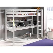 bureau zoe lit mezzanine avec bureau blanc conforama montage lit