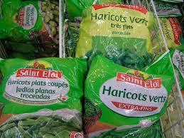 cuisiner des haricots verts surgel cuisiner pour bébé utilisation des produits surgelés natures