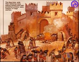siege a assyrian soldiers assyrian soldiers siege a city usingbattering
