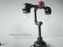 industrial pipe light fixture black pipe light fixture sculptural industrial pipe l design