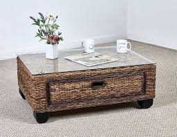Wicker Trunk Coffee Table Wicker Trunk Coffee Table Sofa Style Decor The Decoras