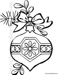 printable christmas ornament coloring page mochabaydesign com