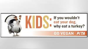 peta s thanksgiving ad asks would you eat your abc news