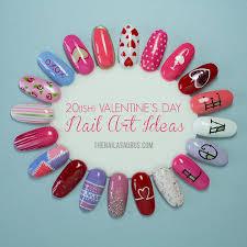 20 ish valentine u0027s day nail art ideas the nailasaurus uk nail