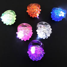 led light up rings ifavor123 com led light up jelly bumpy rings 24 count assorted