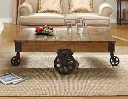 railroad cart coffee table industrial wood coffee table antique factory railroad cart iron