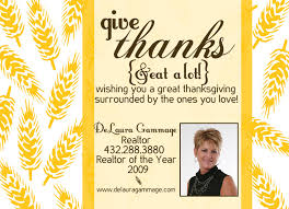 real estate marketing thanksgiving postcards search
