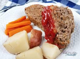 instant pot meat loaf awe filled homemaker