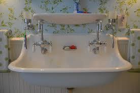 Double Faucet Bathroom Amusing Double Faucet Bathroom Sink Breathtaking Double