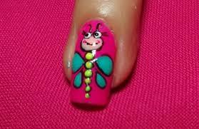 figuras geometricas uñas uñas decoradas con figuras divertidas