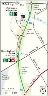 Green Circle Trail Map Natchez Trace Npmaps Com Just Free Maps Period