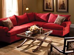 Red Sectional Sofas Furniture Endearing Collections Raymour And Flanigan Coffee
