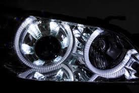 2003 lexus is300 headlights lexus is300 2001 2005 chrome projector headlights dual halo led