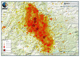 Map Of Central Italy by How The Copernicus Emergency Management Service Supported
