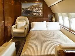 chambre à coucher fly chambre à coucher avion privé intérieur luxe jet fly