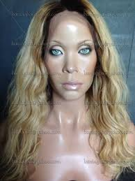 blonde hair with dark roots 16 brazilian lace front wig dirty blonde ombré wig w short
