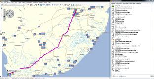 South Africa Maps by South Africa Gps Map For Garmin Gpstravelmaps Com