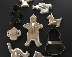 metal cookie cutters etsy