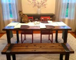 Buy Dining Table Malaysia Wood And Metal Table Etsy