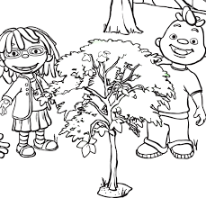 people printable sid the science kid coloring pages coloring tone