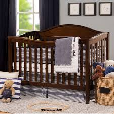 Espresso Convertible Cribs Davinci Laurel 4 In 1 Convertible Crib In Espresso Free Shipping