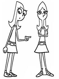 phineas and ferb coloring pages 8 coloring kids