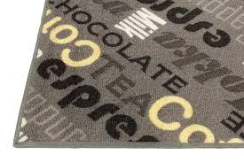 läufer für küche teppich läufer küche küchenläufer cappucino kaffee brücke auf
