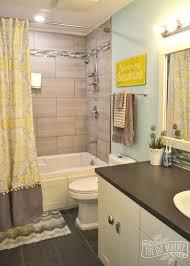 bathroom photo ideas a happy yellow aqua bathroom hometalk
